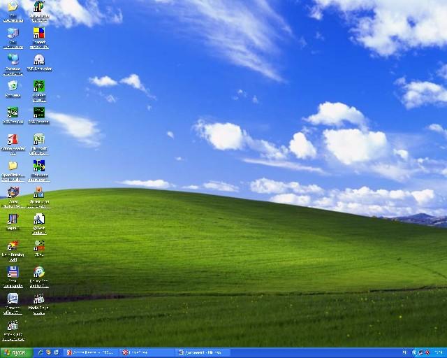 стартовое окно windows xp