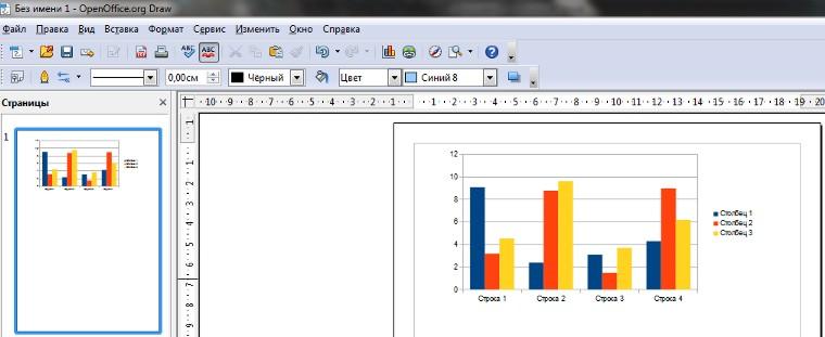 программ OpenOffice.org.